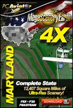 MegaSceneryEarth 4X - Maryland