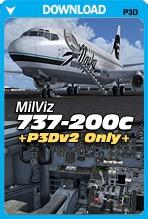 MilViz 737-200c (P3Dv2.x Only)