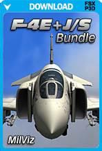 MilViz F-4E & F-4J/S Phantom II Bundle (FSX+P3D)