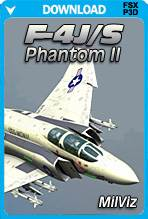 MilViz F-4J/S Phantom II (FSX+P3D)