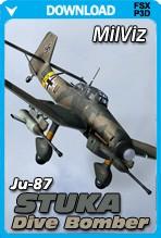 MilViz Ju-87 Stuka Dive Bomber (FSX+P3D)