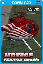 MilViz MD530F (FSX+P3D1/2 Bundle)