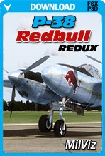 MilViz P-38 Redbull Redux