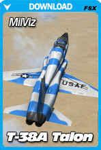 MilViz T-38A Jet Trainer