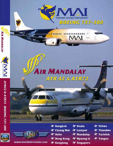 Just Planes DVD - Air Mandalay