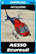 Aerospatiale AS350 'Squirrel' for FSX