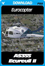 Eurocopter AS355 Ecureuil (Squirrel) II For FSX