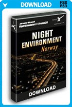 Night Environment Norway (FSX/P3D)