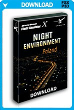 Night Environment Poland (FSX+P3Dv2)