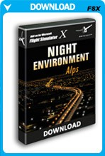 Night Environment: Alps (FSX/FSX:SE/P3D)