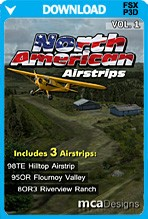 North American Airstrips Volume 1