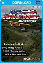 North American Airstrips Volume 1 (FSX+P3Dv2)