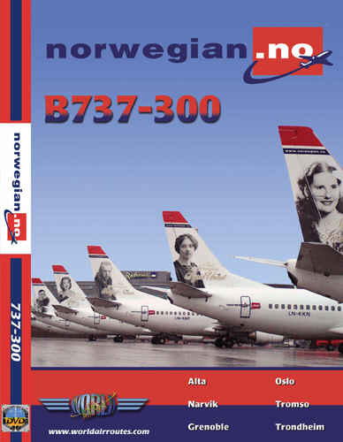 Just Planes DVD - Norwegian B737-300