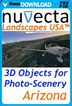 Landscapes USA Arizona (FSX/FSX:SE/P3D)