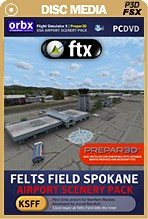 FTX Felts Field Spokane (KSFF)