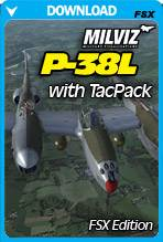 P-38L With TacPack For FSX