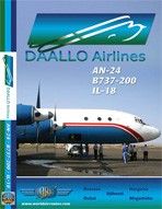 Just Planes DVD - Daallo Airlines AN-24 / B737 / IL-18