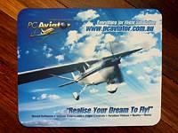 PC Aviator Mouse Pad