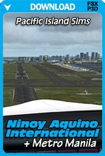 Ninoy Aquino International & Metro Manila (FSX+P3D)