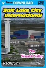 Salt Lake City International (FSX/FSX:SE/P3D)