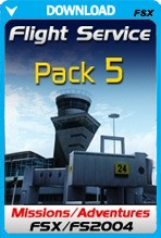 FSX Missions - Flight Service Pack 5