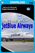 jetBlue Airways Missions Pack (FSX)