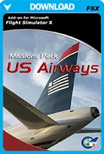 Mission Pack: US Airways (FSX)