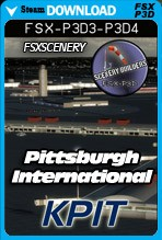 Pittsburgh International Airport - KPIT (FSX/FSX:SE/P3Dv3,v4)