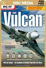 RAF Vulcan Boxed DVD (FSX/FS2004/FS2002)