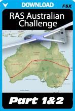 RAS Australian Gliding Challenge Part 1 and 2 (FSX)