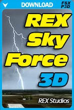 REX 5 - Sky Force 3D (FSX/FSX:SE/P3Dv1-v4)