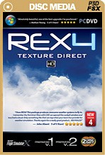 REX 4 - Texture Direct HD (Boxed DVD)