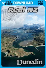 Real New Zealand: Dunedin (FSX/FSX:SE/P3Dv3,v4)