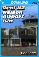 Real New Zealand: VLC Nelson Airport + City (FSX+P3D)