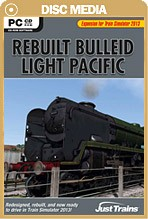 Rebuilt Bulleid Light Pacific for TS2013
