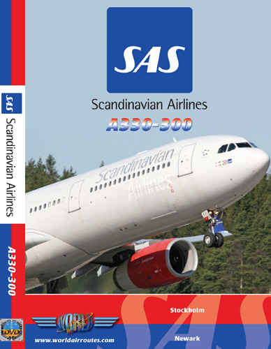 Just Planes DVD - Scandanavian Airlines A330