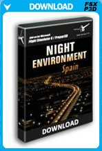 Night Environment: Spain (FSX/P3D)