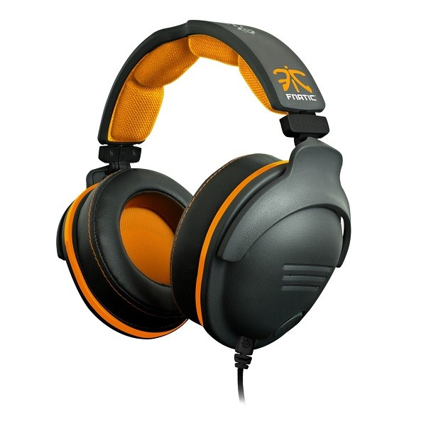 Black & Orange 9H Fnatic Edition USB Headset