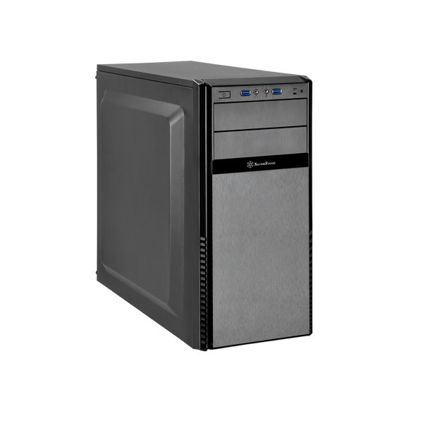 Black Precision PS11 Q Mid Tower Chassis (USB3 & Padded Side Panels)
