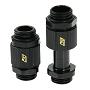 "Black SLI & CrossFireX 20 To 33mm Brass Lok-Seal G1/4"" Connector"