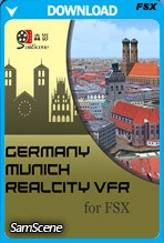Munich RealCity VFR for FSX