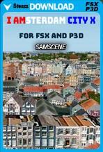 SamScene - I AMsterdam City X (FSX/FSX:SE/P3Dv3,4)