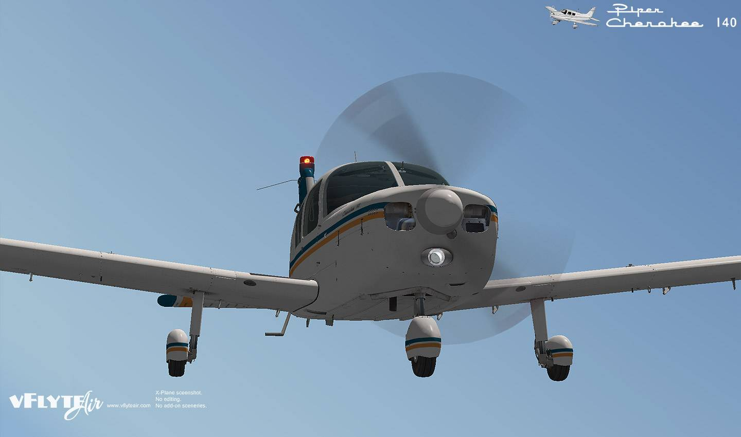 Piper Cherokee 140 Classic for XPlane