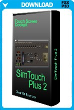 SimTouch Plus 2 Touch Screen Cockpit Software