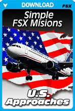 Simple FSX Missions: U.S. Approaches (FSX)
