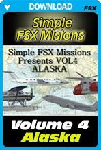 Simple FSX Missions Volume 4 - Alaska
