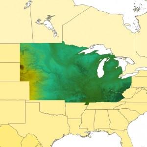 TopoSim - USA - Upper Midwest Region