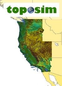 TopoSim - USA - West Coast Region
