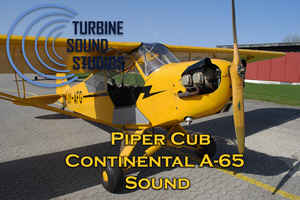 Piper Cub Continental 65 soundpack for FSX