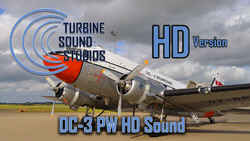 Pratt & Whitney R-1830 Soundpack for the DC-3 (FS2004)